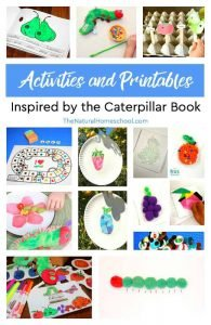 The Very Hungry Caterpillar BEST Bundle of Activities!!!!!