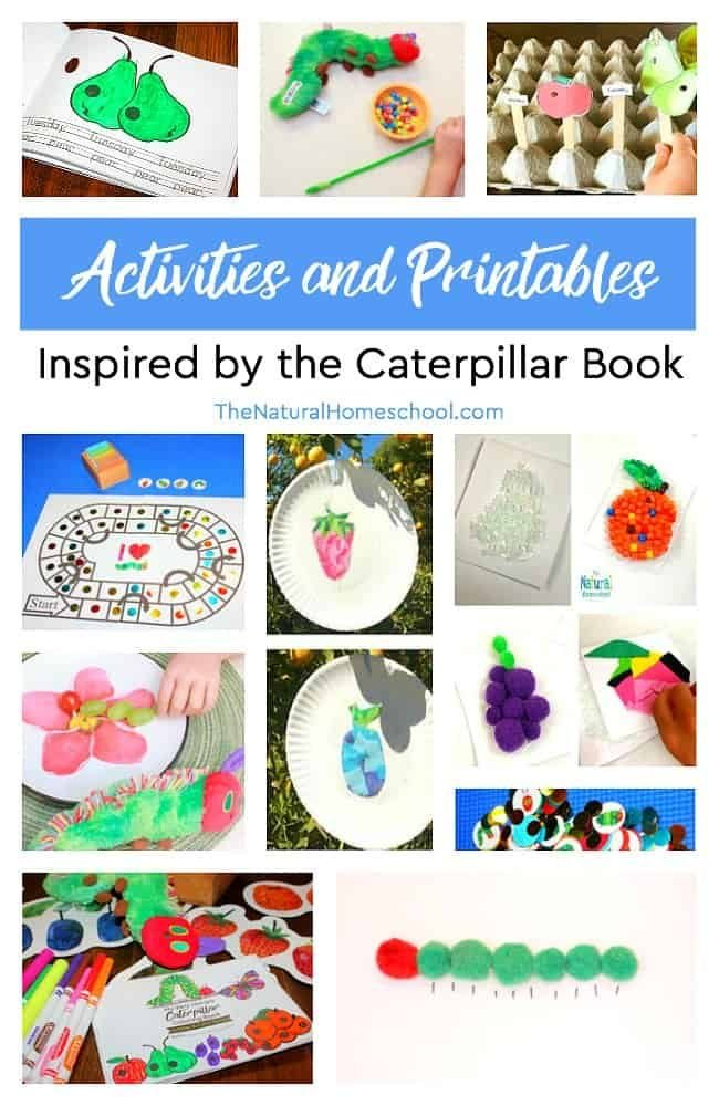 Have you read The Very Hungry Caterpillar by Eric Carle? Don't you just LOVE The Very Hungry Caterpillar printable activities and hands-on ideas to expound on this fun reading? Here is an awesome list!