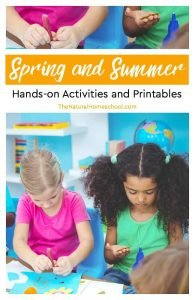 Spring and Summer Hands-on Activities and Printables