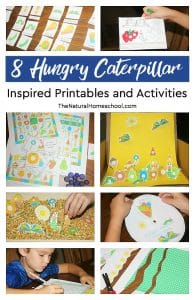 8 Hungry Caterpillar Printables and Inspired Activities