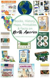 Books, Maps, History, Printables & Facts on North America