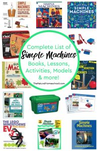 Comprehensive List of Simple Machines Books, Lessons, Activities, Models & more!