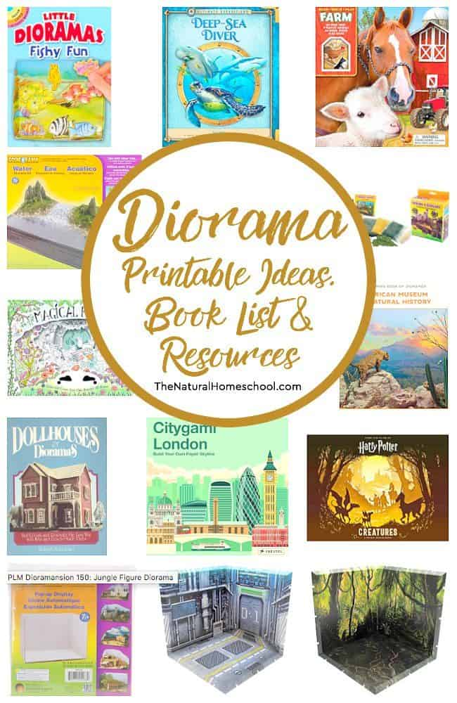 Diorama Printable Ideas, Book List and Resources - The