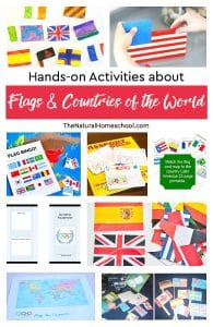 Hands-on Activities about Flags & Countries of the World
