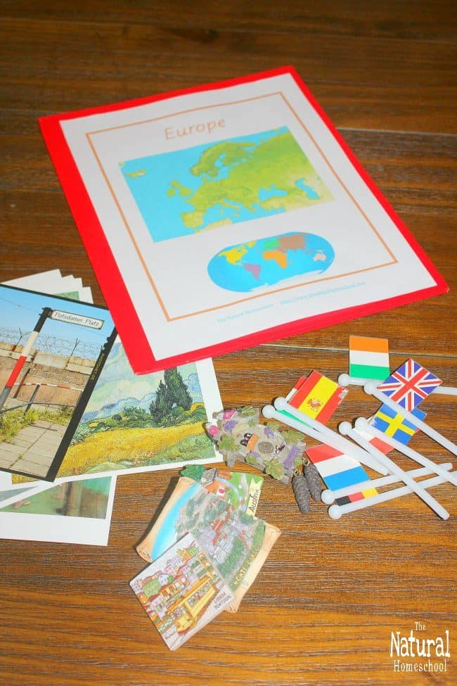 If you love this idea and want to make some of your own Montessori continent boxes or study units, I have made a Continent Folders Printable Set to help you get started!
