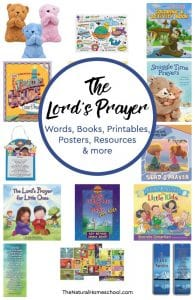The Lord's Prayer Words ~ Books, Posters, Printables, Resources & more