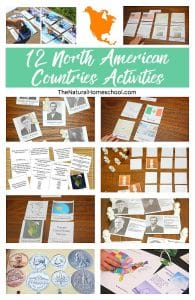 12 Printable North America Countries Activities