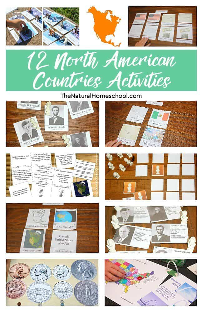 There are 8 sets on these North America countries with a total of about 12 activities (a total of 40 pages).