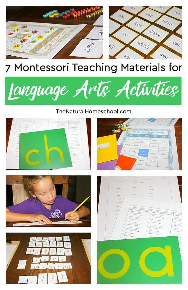 We have been using Montessori teaching materials for over 7 years in our homeschool (as of 2018). In this post, we are excited to show you what we do in our super fun and easy-to-understand Language Arts class.