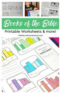 Books of the Bible Printable Worksheets & more!