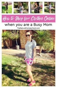 How to Shop for Clothes Online when you are a Busy Mom ($25 Discount Code)