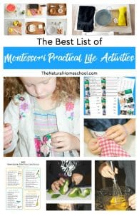 The Best List of Montessori Practical Life Activities