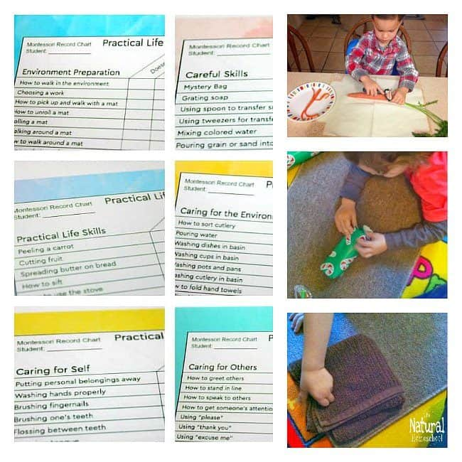 In this post, we have compiled a great list of Montessori Practical Life activities that you can present to your children.