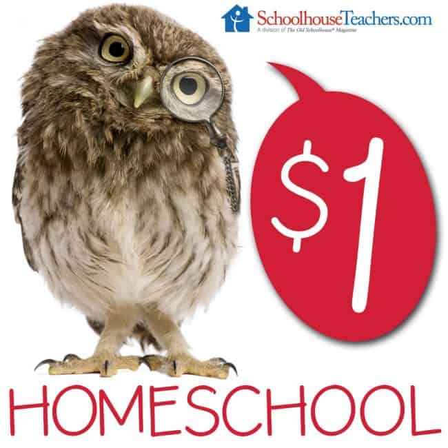 Schoolhouse Teachers has over 400 courses for homeschoolers, starting from Pre-K up to High School! And now, you have an incredible chance to preview it all and try it for an entire month for only $1! Come see how!