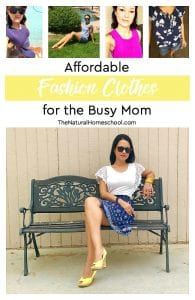 Affordable Fashion Clothes for the Busy Mom