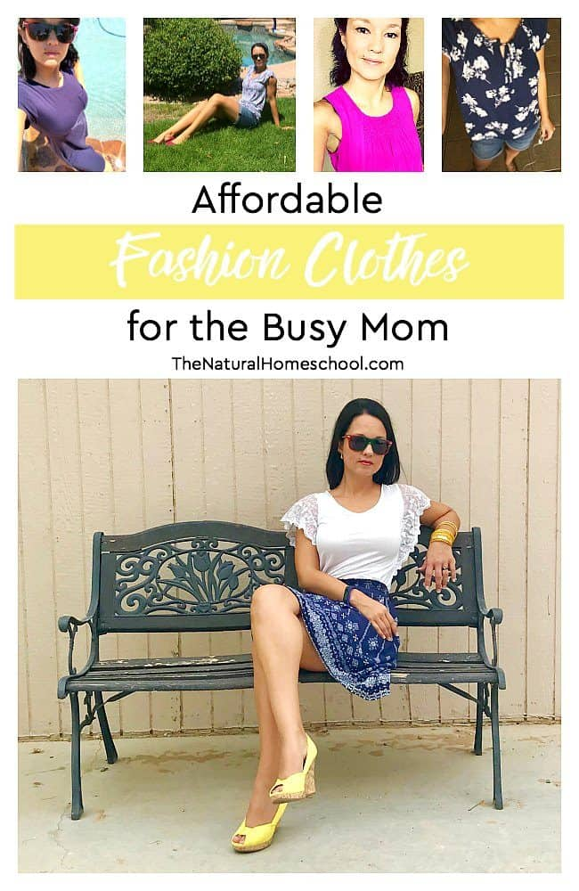 In this post, I will share with you tips on how to easily find affordable fashion clothes for the busy mom that you are!  Let the beautiful mom that you are out.
