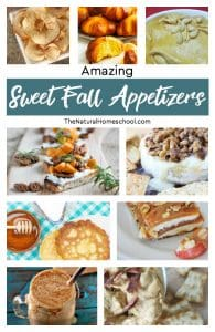 Amazing Sweet Fall Appetizers