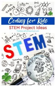 Coding for Kids ~ STEM Project Ideas