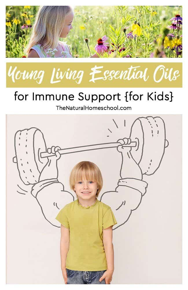 In this post, we will be sharing a list of Young Living Essential Oils for Immune Support for kids. These are some great back to school essential oils and supplements!