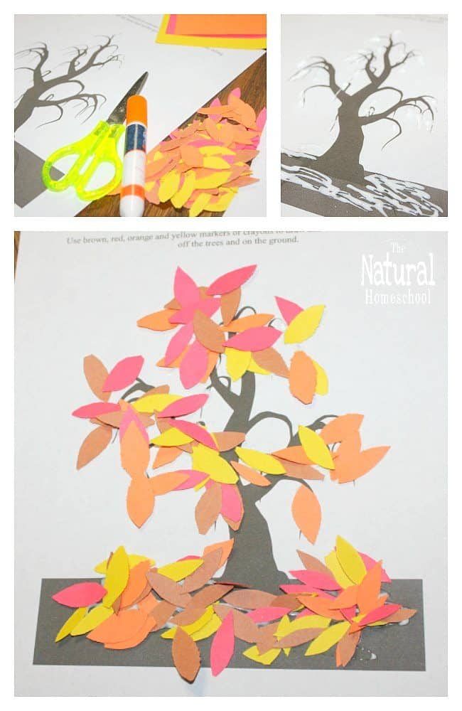 Let me show you these 4 printableeasy Fall crafts for kids to make. The cool thing is that you can print them and the rest is up to you! Here are some fun ideas!
