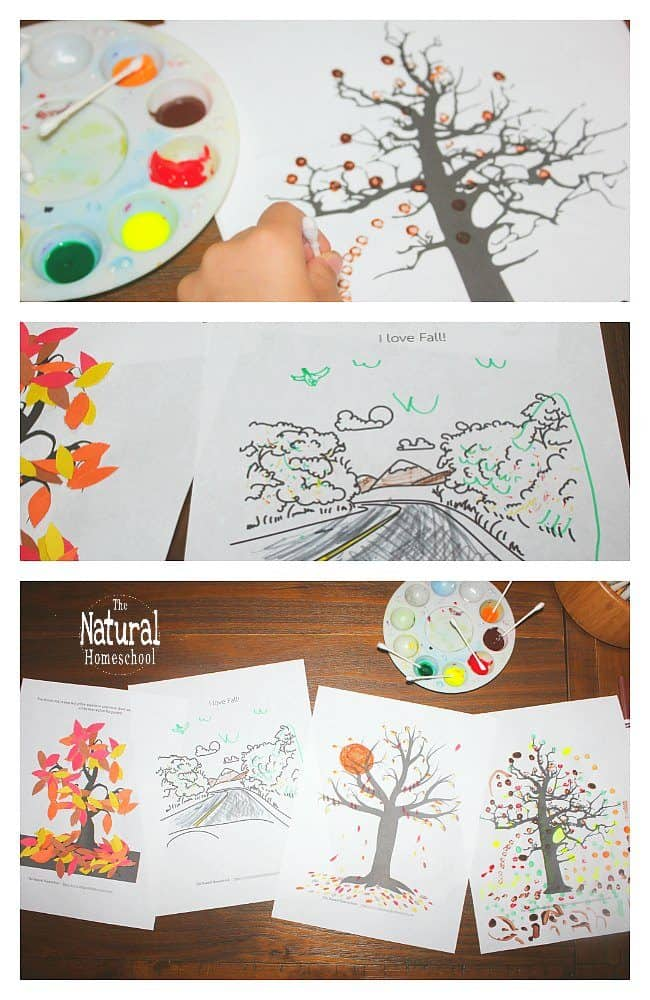 picture relating to Printable Fall Crafts identified as 4 Printable Straightforward Drop Crafts for Small children - The Natural and organic Homeschool