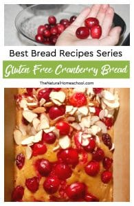 Best Bread Recipes Series ~ Gluten Free Cranberry Bread