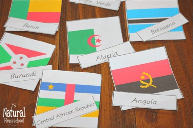 On this page, you will see all kinds of flags in the best list of printable flags activities that kids will love.