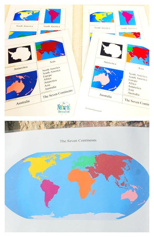 picture relating to Printable Seven Continents referred to as The 7 Continents of the Planet ~ Functions Absolutely free Printable