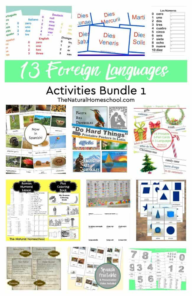 In this page, you will find some of the best way learn foreign language for kids! Check out these 13 Foreign Languages Activities (Bundle 1).
