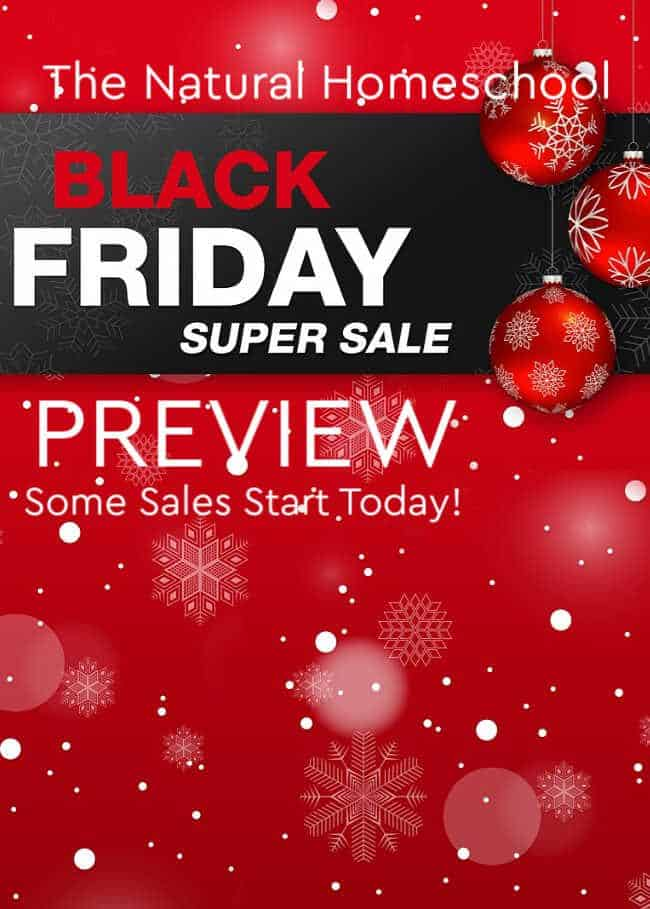 Welcome to our awesome PREVIEW LIST for Black Friday 2018!  Be on the lookout because some of the SALES go LIVE TODAY! I will list those first. If you have some down time on Thanksgiving Day, you can tackle that part of the list and then come back tomorrow (Black Friday) to get the rest of the incredible sales!  Make your list for your upcoming Christmas presents and be sure to take advantage to save money! And don't forget! Shop today and come back to this post tomorrow for the rest!