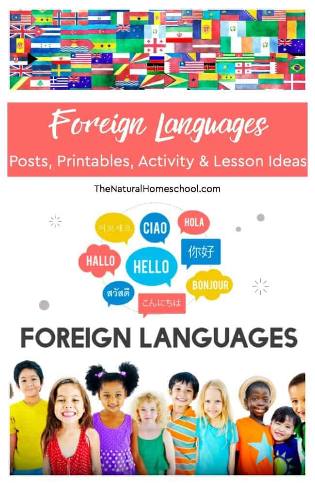 Here is an awesome list of some great languages posts, printables, activity and lesson ideas! Come take a look!