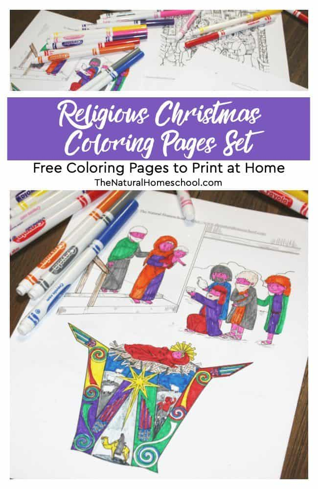Free Printable Christmas Coloring Pages for Kids - Crafty Morning | 1000x650