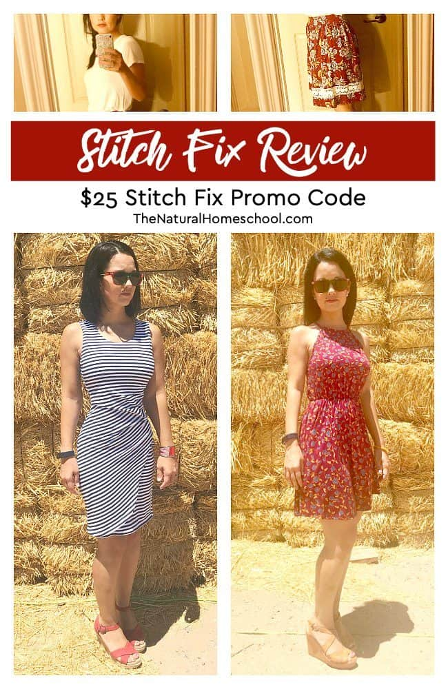 Even if you don't think that there can be nice fashion clothes for the homeschool mom, there are! Let me tell you how in this Stitch Fix review. Come look at how I like their clothes and how I use them.