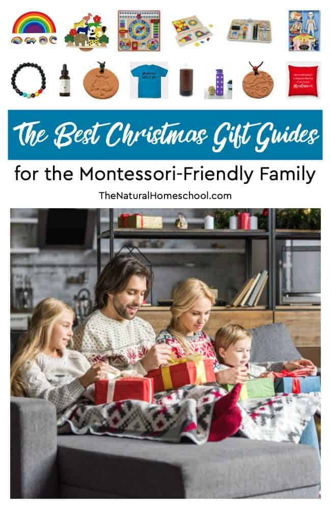 Here is a great Christmas gift list with ideas that you will love and find inspirational. Take a look at The Best Christmas Gift Guides for the Montessori-Friendly Family!