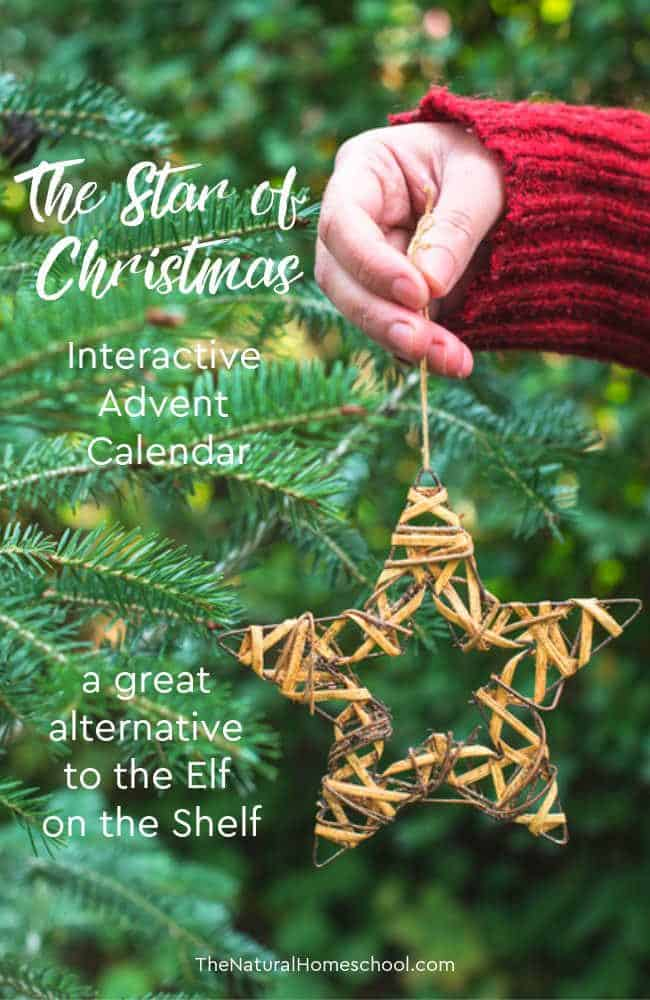 Come and take a look at this: The Star of Christmas Interactive Advent Calendar. It is a great alternative to the Elf on the Shelf, if it isn't your cup of tea.