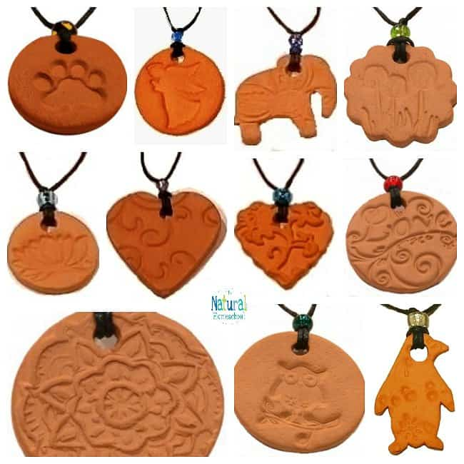 Essential Oils Terracotta Necklaces