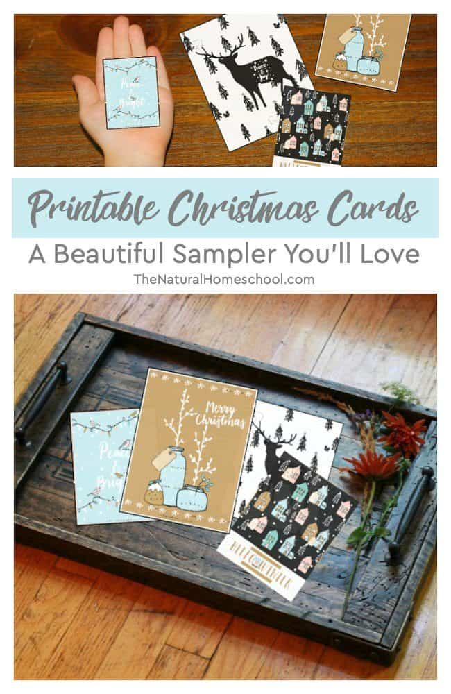 In this post, you will see everything about this beautiful Printable Christmas Cards Set and you will even get to get a free sample of the cards in the set!