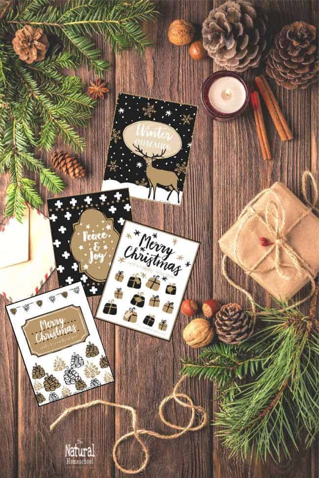 In this post, you will see everything about this beautiful Printable Christmas Cards Set!