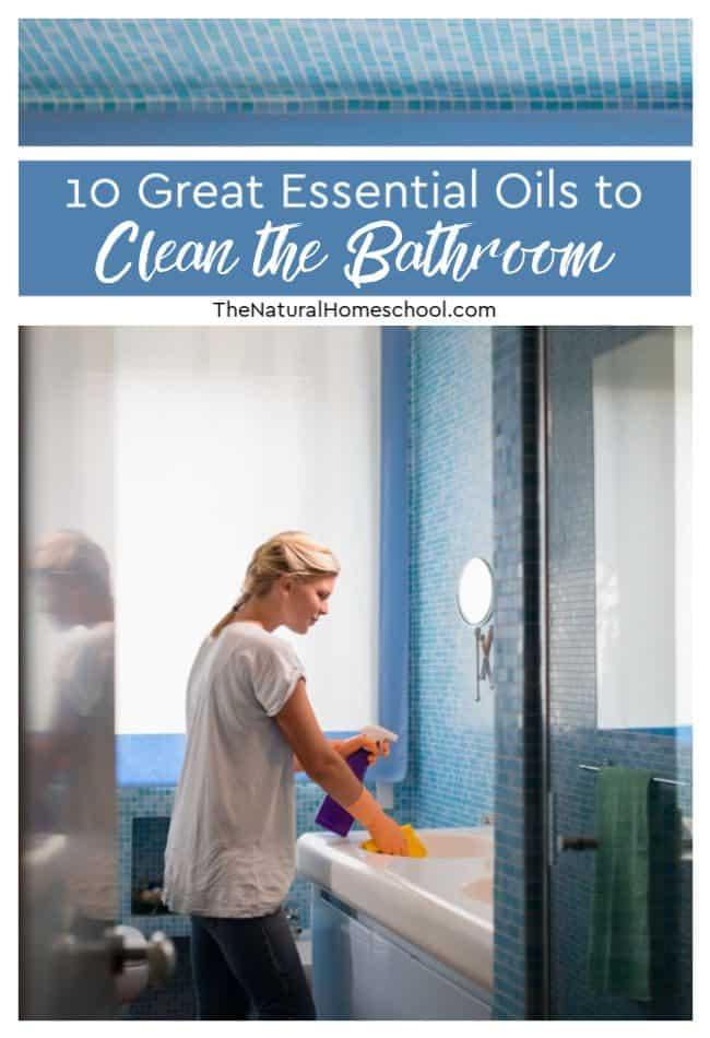 Take a look at 10 great essential oils to clean the bathroom in a quick, efficient, effective and natural way.