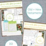 Memorize the Books of the Bible Printable - The Natural
