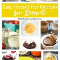 Easy Instant Pot Recipes for Desserts