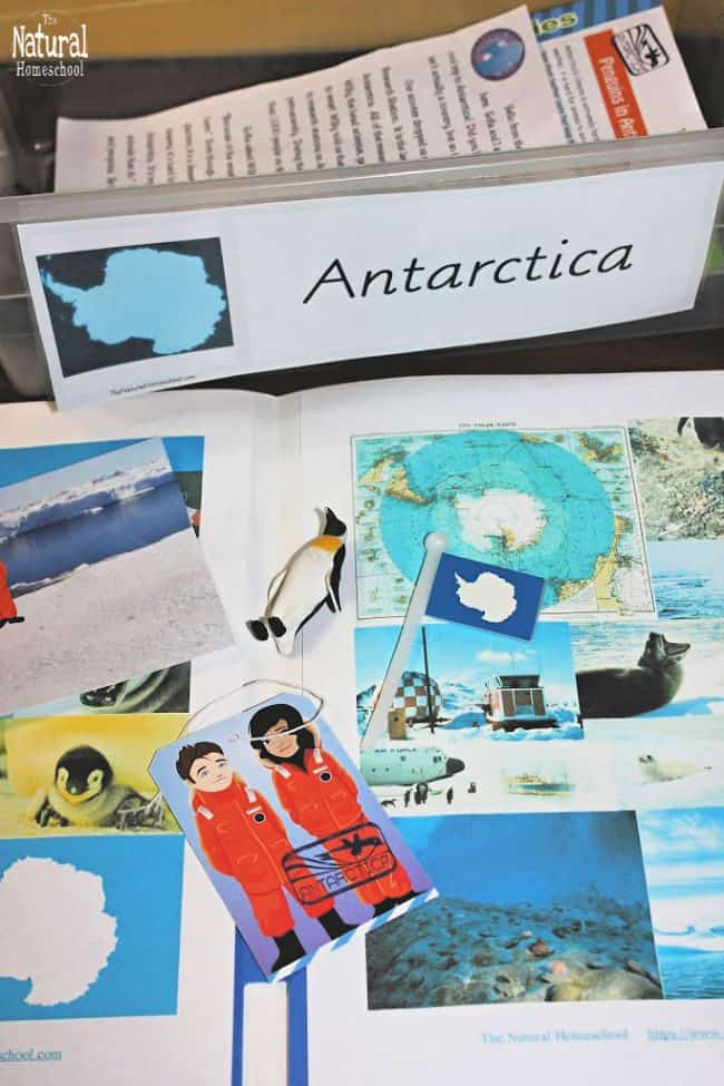 In this post, we will talk about Montessori continent folders, particularly, I will share with you the one we do during Winter: Antarctica! Come look at this fun lesson on Antarctica for kids.