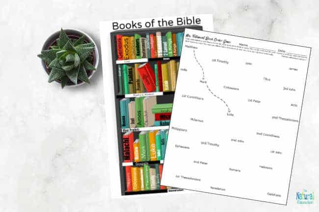 We are so excited that you have come over to see our 8 super fun Books of the Bible Worksheets ~ New Testament Printable Set!