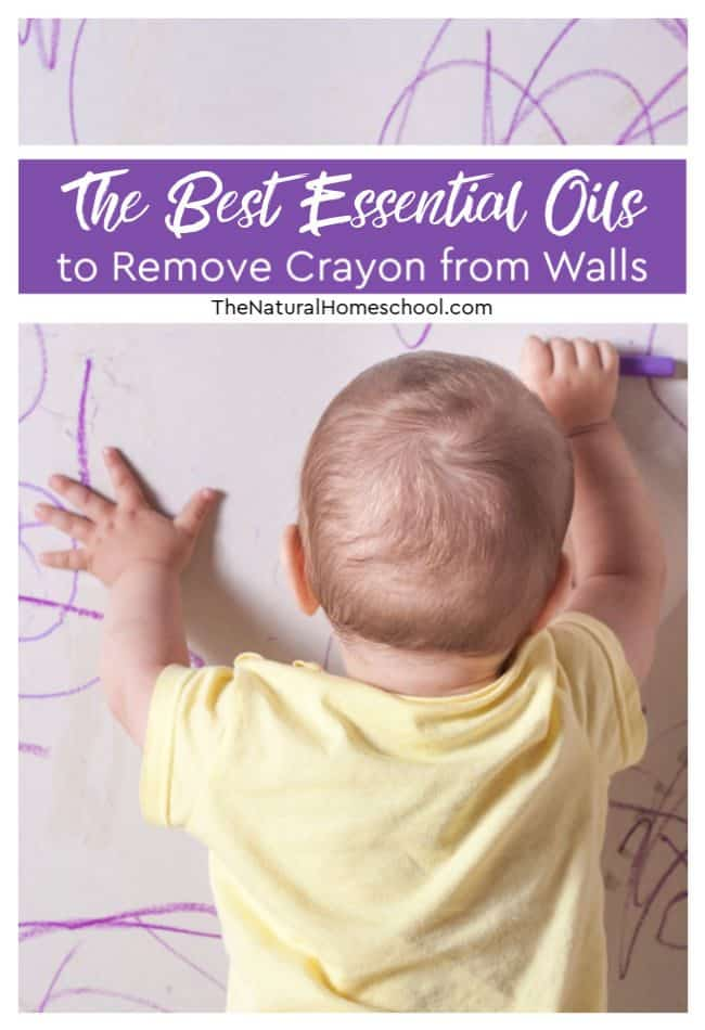 In this post, I will share with you the two awesome essential oils that I have use to remove crayon from walls. Yes! I was successful, so I am sharing the tip with you.