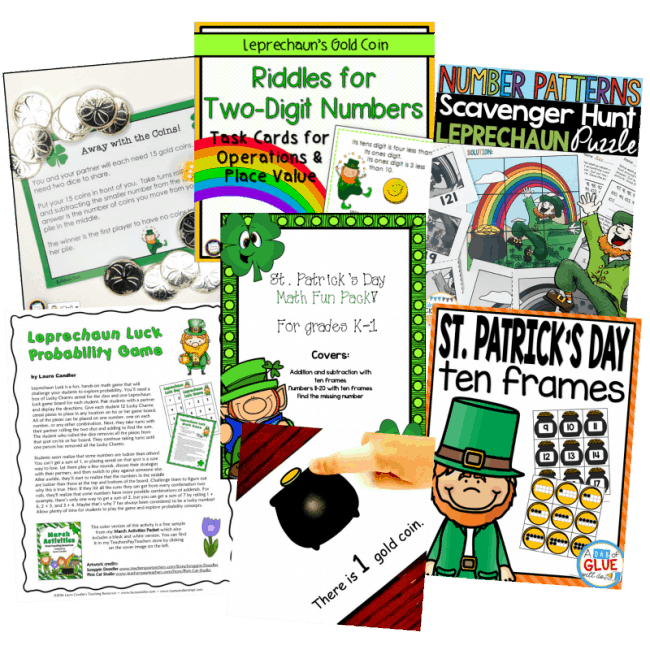 Don't Miss This FREE Bundle of Math Activities!