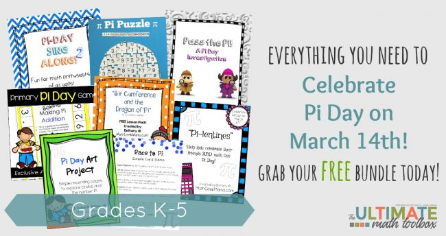 Pi Day is Coming...Are You Ready? This FREEBIE is Awesome!