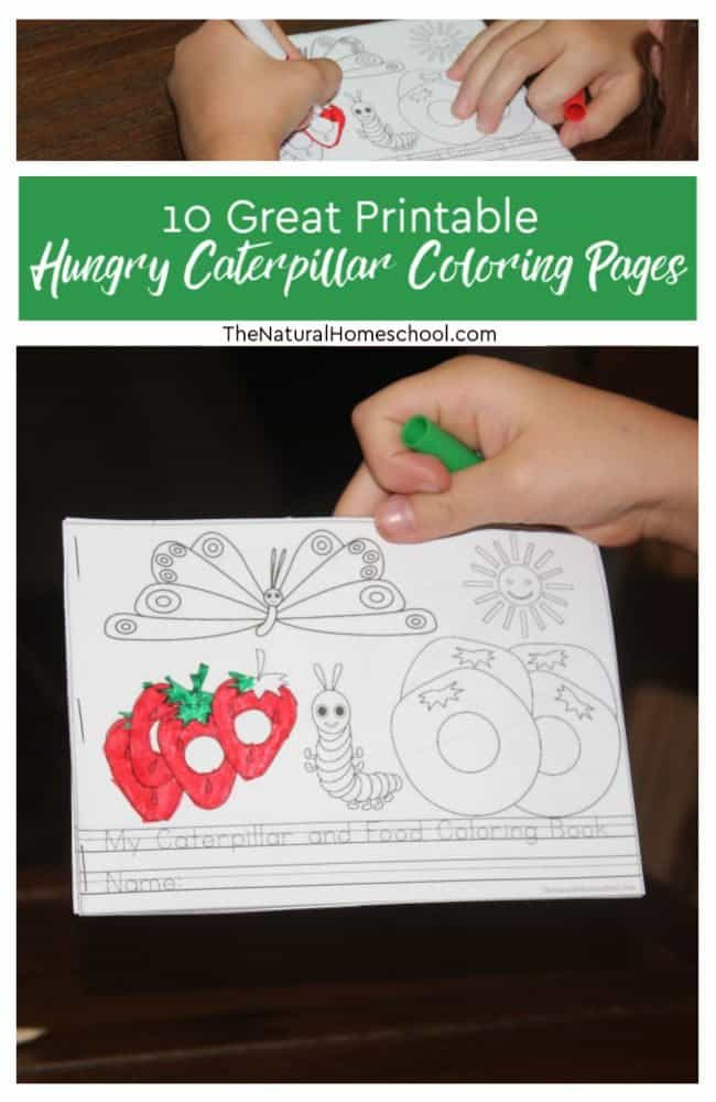 Get This The Very Hungry Caterpillar Coloring Pages Free for Kids ... | 1000x650