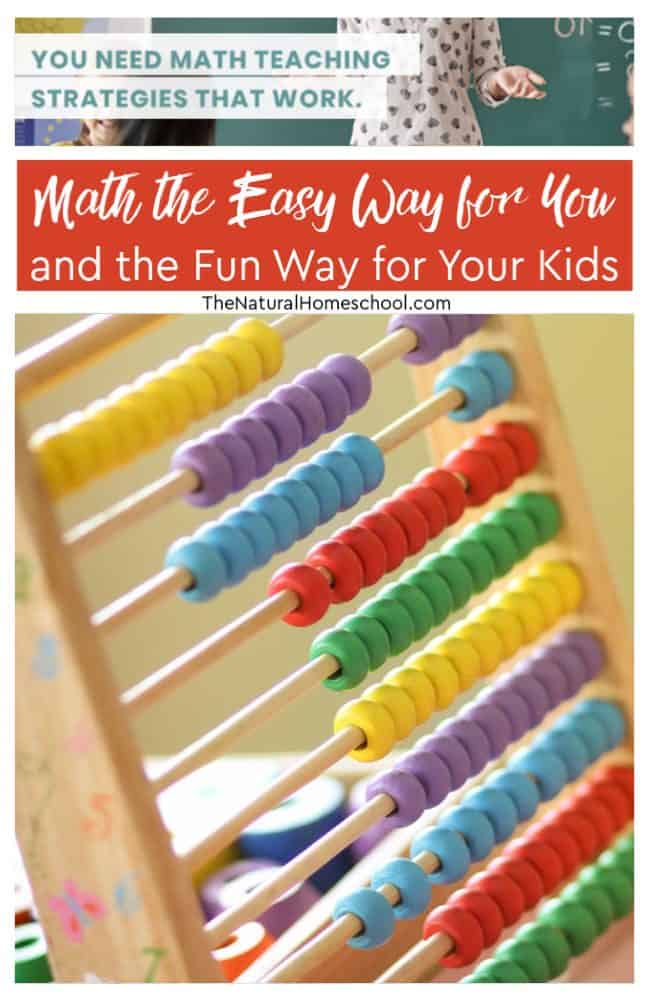 Let's find out how to make a dream come true (and it is completely possible): Math the easy way for you and the fun way for your kids!