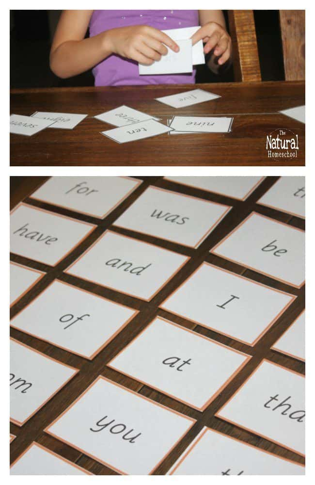 Here are the best 6 free Montessori Language curriculum PDF download! Yay! You will get these 6 sets of sight word cards that are perfect for pre-reading!