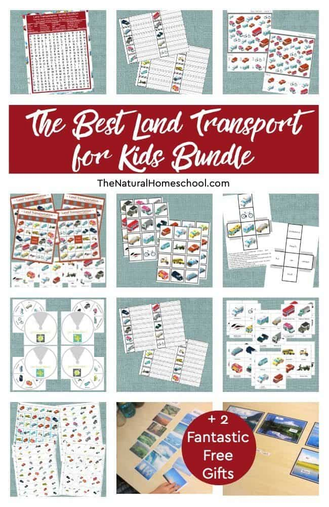 Come and take a look at this beautiful The Best Land Transport for Kids Bundle + 2 Fantastic Free Gifts! I am absolutely sure that it will be as helpful and as educational as you expect it to be!